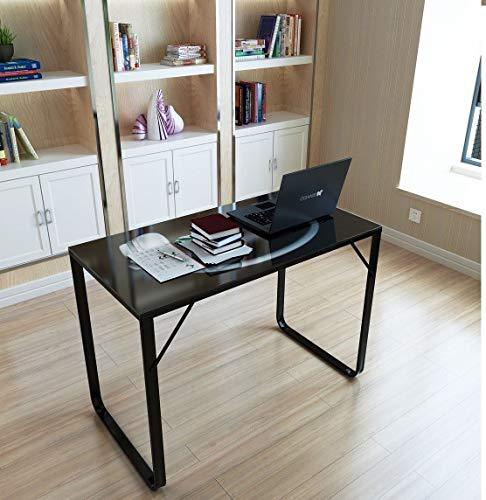 Generic Glas-Tisch für Arbeitszimmer, Arbeitszimmer, Glastisch, kStation für Zuhause, Büro, Schreibtisch, Puter aus Glas