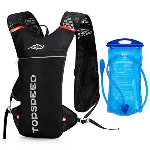 UTOBEST Trinkrucksack, 5 l, mit 1,5 l Wasserblase und leichtem Rucksack für Radfahren, Laufen