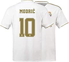 Mens Modric Jersey 10 Real Madrid Adult 2019-2020 Home Soccer Luka