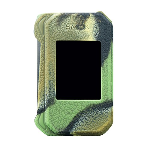 DSC-Mart Texture Case for SMOK G-Priv 2 230W Protective Silicone Rubber Cover Sleeve Shield Wrap Fits Gpriv 2 (camo)
