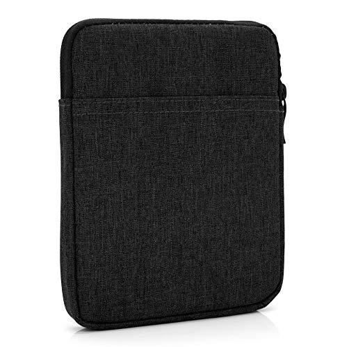 "MyGadget Borsa Sleeve Nylon 8"" - Case Protettiva per E-Reader/Smartphone - Custodia per Amazon Kindle Paperwhite/Voyage/Oasis/Kobo - Nero"