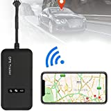 Likorlove -Vehicle Car GPS Tracker Tracking Device Mini GSM GPRS SMS Locator Global Real Time for Car Auto Vehicle Motorcycle Taxi (90mm x 45mm x 16mm)