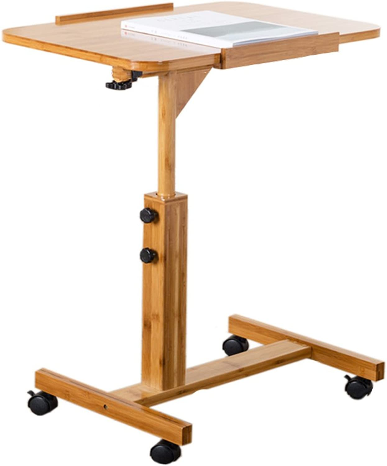 ZZ Folding Table Folding Computer Table Removable Lifting Lowering Laptop Table Folding Book Desk Dining Table (Size   Table Side Length 60CM)