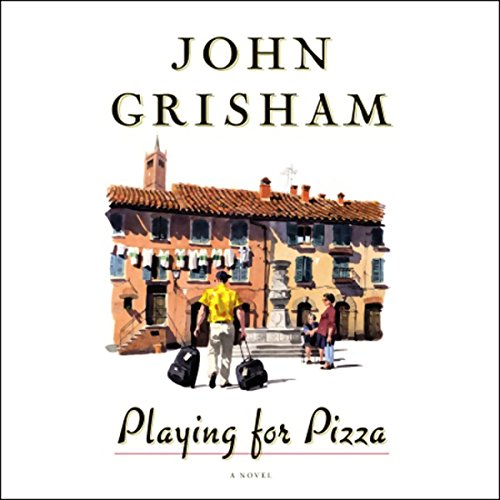 Playing for Pizza audiobook cover art