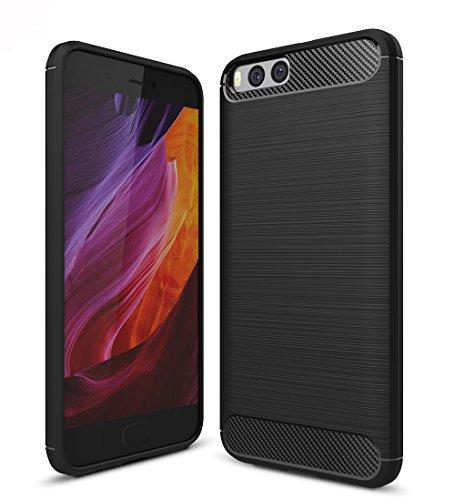 Xiaomi Mi6 Funda, SMTR Calidad premium Cubierta Delgado material de silicona...