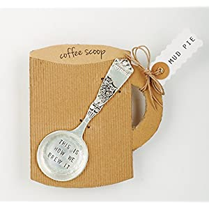 Mud Pie Coffee Scoop Silver