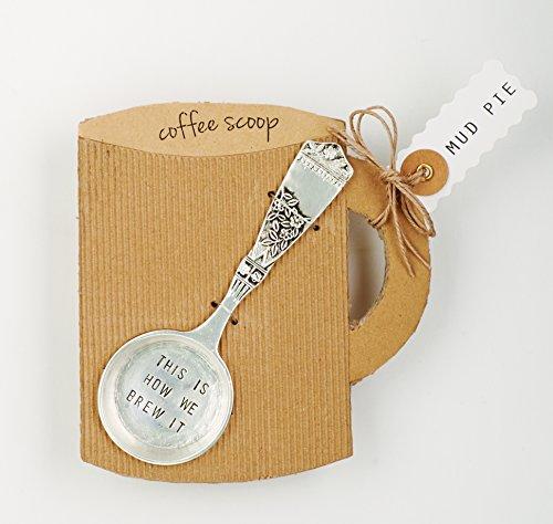 Mud Pie Coffee Scoop Silver