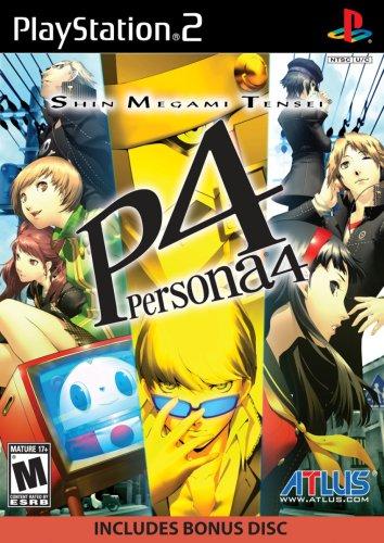 Atlus Shin Megami Tensei: Persona 4 + Soundtrack CD, PS2 Basic PlayStation 2 Inglese videogioco