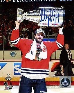 Niklas Hjalmarsson Chicago Blackhawks Signed Autographed Stanley Cup 8x10