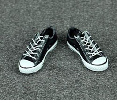 Tytlmask Kleding model Scala 1/6 sportschoenen zwart voor dames zonder voeten voor 12 inch actie figuur