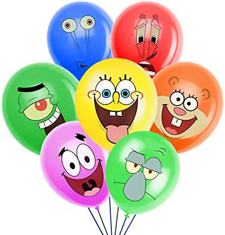 SpongeBob Inspired SquarePants Party Supplies Birthday Party Balloons for SpongeBob Theme Party product image