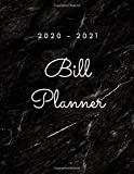 Bill Planner 2020-2021: monthly and weekly budget planner with 2 Year Calendar 2020-2021 | income paycheck tracker, money Weekly expense tracker ,pay ... save money for mom (Paycheck budget tracker)