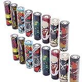 24 PCS 18650 Battery Wraps, Devil Series Protective...