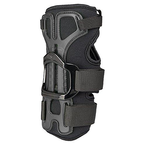 Dainese Unisex– Erwachsene Hector Wristguard 13 Snowboard Handgelenkschutz, Schwarz/Carbon, M