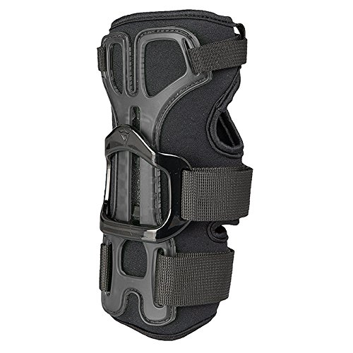 Dainese Herren Hector Wristguard 13 Ski Protektor, Black/Carbon, L