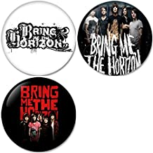 Bring Me The Horizon #3 Pinback Buttons Badges/Pin 1.25 Inch (32mm) Set of 3 New