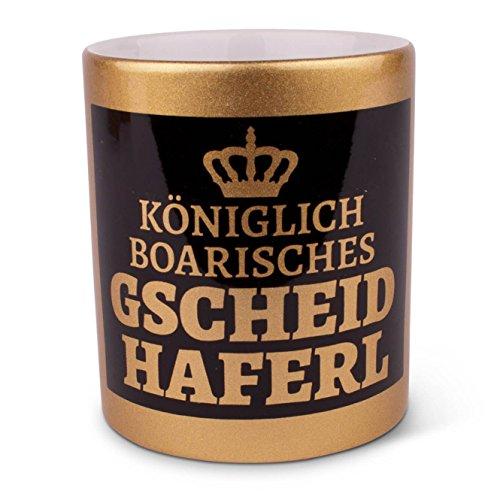 Königlich boarisches Gscheidhaferl Kini-Edition