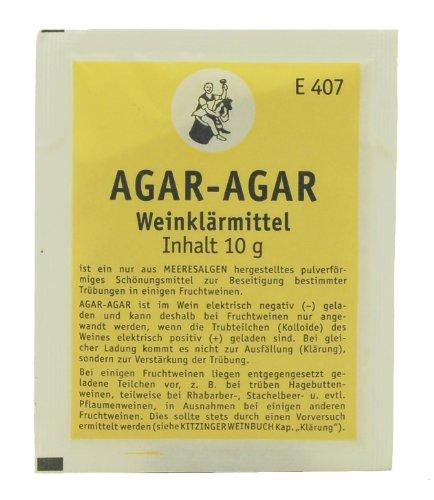 Kitzinger AGAR-AGAR Weinklärmittel 10g