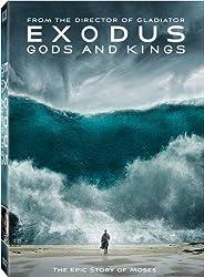 Exodus: Gods & Kings dvd cover