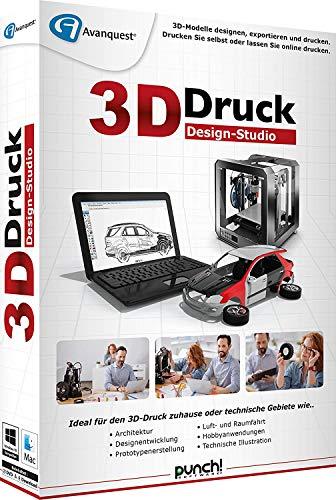 Preisvergleich Produktbild 3D Druck Design-Studio Software DVD