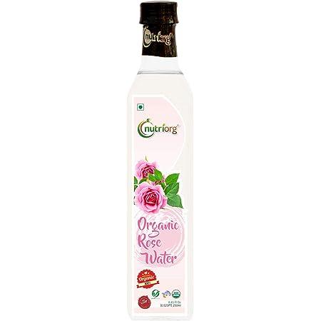 Nutriorg Certified Organic Rose Water - 250ml