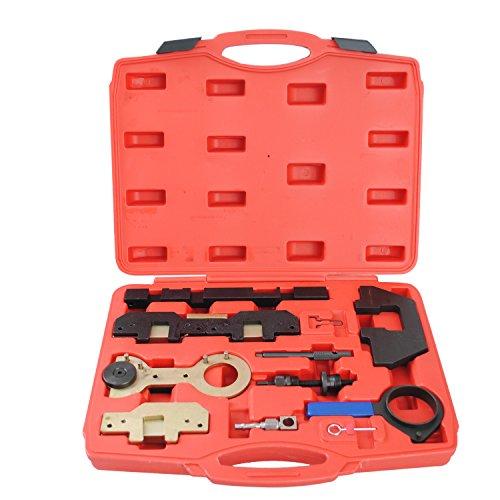 CCLIFE Motor Nockenwellen Kurbelwellen Arretierung Einstellwerzeug Steuerzeiten Zahnriemen wechsel Werkzeug M40 M42 M43 M44 M50 M52 M54 3 5 7 X3 X5 Z3 Z4