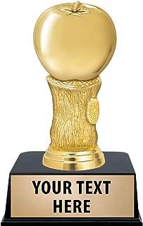 Crown Awards Apple Trophies with Custom Engraving, 6