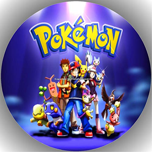 Fondant Tortenaufleger Tortenbild Geburtstag Pokemon T3