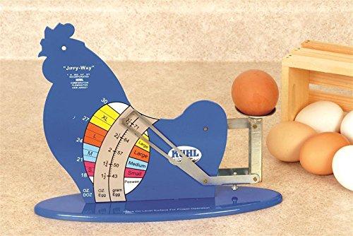 Kuhl JIFFY-III-12 Jiffy-Way Egg Grading Scale