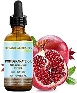 Sponsored Ad - Botanical Beauty Pomegranate Oil -100% Pure, 100% Natural. For Face, Hair and Body 1 oz-30 ml