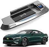 Chargeur sans Fil Voiture pour Ford Mustang 2015 2016 2017 2018 2019 2020 2021 Panneau la Console...