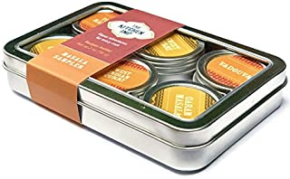The Kitchen IMP Masala Indian Spice Organic Sampler Set With 6 Tins 10grams Each | For Seasoning & Marinating Meat, Poultry, Fish, Veggies & More | Premium Cooking Gift Set