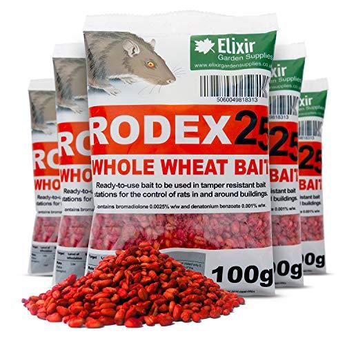 Elixir Gardens Rodex 25 Rat Poison & Rodent/Pest Control   Strongest...