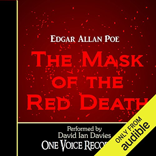 The Masque of the Red Death audiobook cover art
