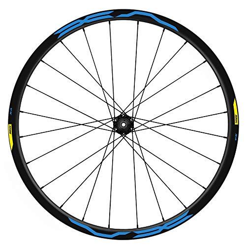 Pegatinas Llantas Bicicleta 29' WH35 Mavic XA VINILOS Ruedas Azul 517