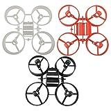 Sharplace 3 Pezzi Telaio Principale di Plastica Main Frama Struttura di Quadcopter per Drone JJRC H36 E010 E010C E010S NH010 15x10x1cm