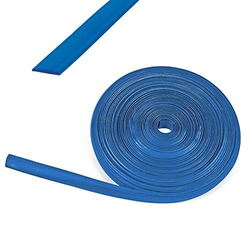 wamovo 10 Meter Kederband 12 mm blau Kunststoff Leistenfüller für Wohnwagen und Wohnmobil