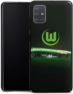 DeinDesign Hard Case kompatibel mit Samsung Galaxy A51 Schutzhülle schwarz Smartphone Backcover Offizielles Lizenzprodukt VFL Wolfsburg Stadion