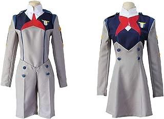 Anime Darling in The FRANXX Cos HIRO Ichigo School Uniform Cosplay Costume Sets Halloween Suit