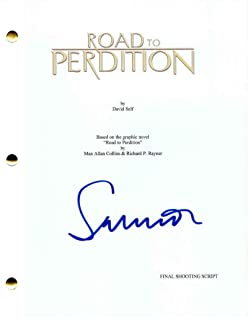 Sam Mendes Signed Autograph - Road To Perdition Movie Script - Paul Newman