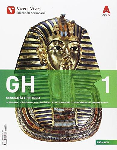 GH 1 ANDALUCIA (GEOGRAFIA/HISTORIA) ESO AULA 3D: 000001 - 9788468235486