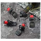 [5 Stück] flaschenverschluss,flaschenverschluss bierflaschen,Es ein flaschenverschluss universal für einen Champagnerdeckel und ein Flaschenstöpsel kann auch wiederverwendet werden