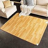 alfombra Cálida Almohadilla para El Pie Esterilla De Yoga con Calefacción Eléctrica Calentamiento Rápido Más Cálido Sala Habitación Oficina Dormitorio, Tamaño Personalizable