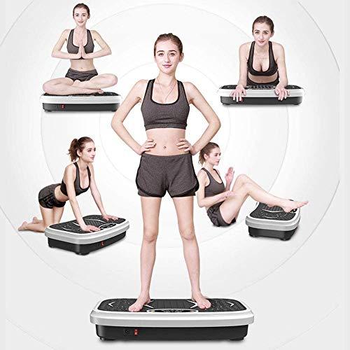 Kotee El rechazo de la pérdida de grasa Plataforma de vibración de todo el cuerpo Peso Plataforma Vibratoria balanceo Thin Thin armas de cintura fina de la fuente de alimentación de estómago Junta Eje