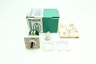 KLOCKNER MOELLER T1-2-1821-670/E+KN 3 Position Rotary CAM Switch 600V-AC D654994