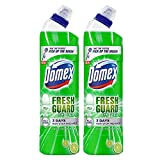Domex Fresh Guard Lime Fresh Disinfectant Toilet Cleaner, 750 ml (Pack of 2)