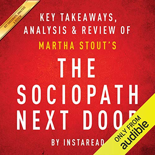 The Sociopath Next Door: by Martha Stout cover art