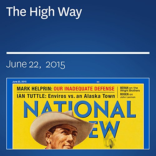 The High Way audiobook cover art