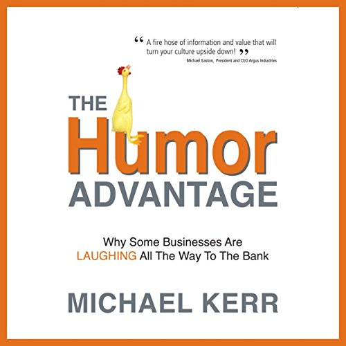 The Humor Advantage audiobook cover art