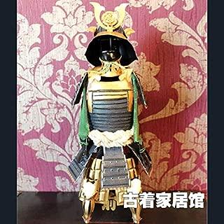 ZAMTAC Oda Nobunaga/Armor Armor Model Retro/Japanese Samurai Armor/Warring States Japanese Restaurant Decoration